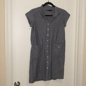 Dear Creatures chambray shirt dress